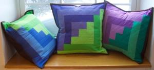 Log Cabin Cushions 2