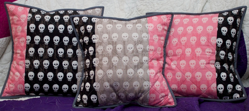 Skulls and Candy – Geekly Chic by Riley Blake Designs Cushions