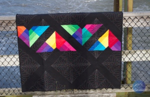 Kite Flight Mandalei Quilts Back