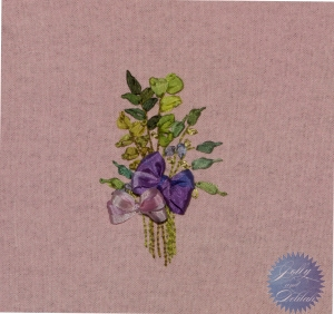 embroidering with ribbon mary jo hiney herb and pencil violet