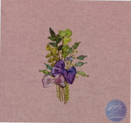 Pencil Violets and Herbs. Design by Mary Jo Hiney