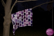 Chatter Box Quilt Boo Davis Dare to Be Square Kona Fields of Iris 2