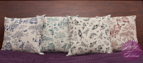 Pillows - fabric by Joli Pomme for Cosmo Textiles