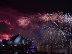 Opera House Fireworks