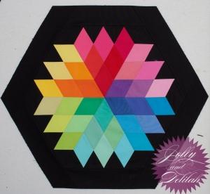 Rock Candy Jaybird Quilts New Brights Kona