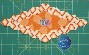 Tula Pink Marquise Quilt Block 1