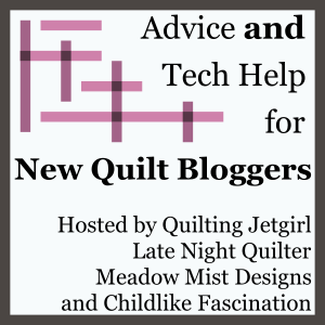 I finally join in on the 2015 New Quilt Bloggers BlogHop.