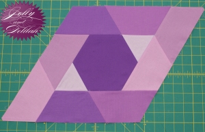 Ultraviolet Jaybird Quilts Gravity