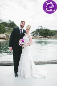 Nick and Me at our wedding in Sydney: February 2015.